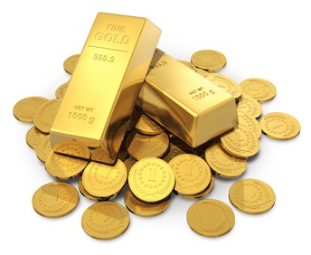Gold-Bars-And-Coins